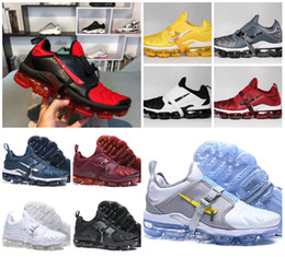 pvc wraps Promo Codes - 2019 New Tn Plus Paris Running Sports Shoes Cheap Triple Black White Air Tn Plus 2.0 Strap That Wraps Around Chaussures Designer Sneakers