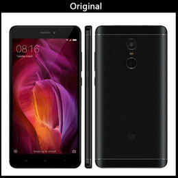 smartphone micro sim Promotion Version mondiale originale Xiaomi Redmi Note 4 4G LTE ID tactile ID Helio X20 RAM 3G ROM 64G Deca Core Android 6.0 5,7 pouces 1080P FHD Smartphone