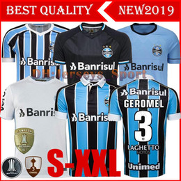 09501b93cbc Best Quality 2019 Gremio Soccer Jersey 19 20 Gremio MILLER LUAN DOUGLAS  DIEGO HAILON Home Away third football shirts camisetas de futbol breathable  soccer ...