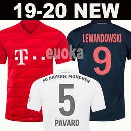 Top Thailand Bayern München JAMES RODRIGUEZ Trikot 2018 2019 2020 LEWANDOWSKI MULLER KIMMICH Trikot 18 19 20 HUMMELS Trikot von Fabrikanten
