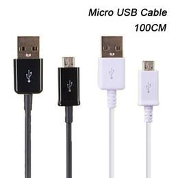 USB Kablosu Toptan 1 M 3FT Mikro USB V8 Data Sync Şarj Kablosu Cep Telefonu Kabloları Android Cihaz Samsung Huawei LG HTC için nereden böğürtlen cihazları tedarikçiler
