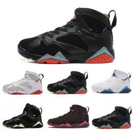 898576a2c55c AAA+ Men 7 Basketball shoes hare UNC Pantone Pure Money Olympic Bordeaux GG  Cardinal Raptor French Blue Citrus cigar sport Sneaker us 7-13