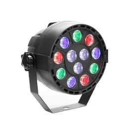12 luzes LED par com RGBW 12LED por IR Remote e DMX Controle para Iluminação Cénica de