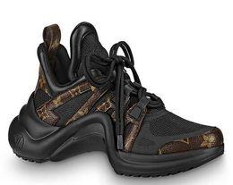 Cunei di scarpe da corsa online-huweifeng3 Flats 1A43LH Archlight Sneaker Donna Running Ballerina 2019 SNEAKERS Scarpe Mocassini Espadrillas Zeppe Abito Scarpe Stivali