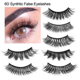 Composição de olho encantador on-line-HANDAIYAN Cílios Encantadores 3D Cílios Postiços Naturais Reutilizáveis Encaracolado Grosso Longo Macio Cílios Postiços Maquiagem Eye Lashes