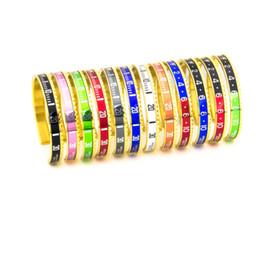 2019 großhandelsmanncharme-stulpearmbänder Luxus-316L Edelstahl Mode Speedometer Bracaletes Pulseras Vintage gold plattiert Liebe-Armband-Armband für Männer Armreif Großhandel günstig großhandelsmanncharme-stulpearmbänder