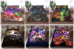 modern king beds Coupons - Marvel Film Avengers Infinity War Full role Duvet Cover Comforters sets Bedding Sets,Twin ,Full,Queen ,King