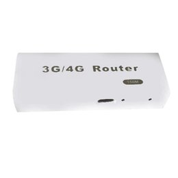 точка доступа 3g Скидка AAAJ-Mini 3G/4G Wifi Wlan Hotspot Ap Client 150Mbps Rj45 Usb Network Wireless Router For Ios Android Mobile Phone Tablet Pc