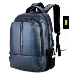 Deutschland MoneRffi 2019 Neu Für Männer Rucksäcke Oxford USB Lade Reise Wasserdichte Laptop Rucksack Teenager Student Schule Rucksack Versorgung