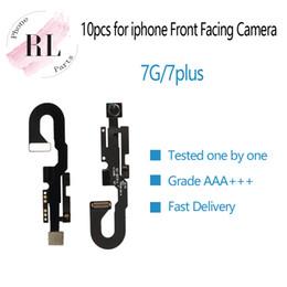 """Capteurs d'iphone en Ligne-10 PCS Nouveau pour iPhone 7 4.7 """"Câble de caméra avant câble Flex pour iPhone 7, plus 5,5 pouces Capteur de lumière Proximité Face Cam"""
