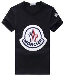 Lista de tops on-line-2019 verão nova listagem roupas de grife de alta qualidade moda masculina impressão de t-shirt grátismonclert-shirt de homens e mulheres