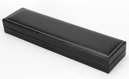 materiali di imballaggio dei monili Sconti High-end in pelle fabbrica di confezionamento di moda preziosa medicinale scatola di cuoio PU Materiale casella personalizzata di monili orologio rettangolare