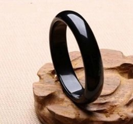 Bracelet de calcédoine en Ligne-Authentique specials pure bracelet de jade ocre noir, calcédoine noire moyenne et moyenne en calcédoine brésilienne