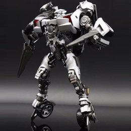 giocattoli di film dei robot di azione figura Sconti Trasformazione Sideswipe G1 LS08 LS-08 Modalità BMB Film Film Lega Voyager Action Figure Giocattoli robot