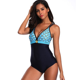 8f3f899ce2 wholesale sexy ladies Womens one Piece Swimwear Swimdress Backless Bandage  Bikini Top Shorts Swimsuit Bathing Suit Beachwear Plus Size S-5XL