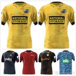 2020 Nova Zelândia Super Rugby Jersey escoceses cruzados Home Jersey furacões azuis Rugby Jerseys camisa tamanho s-3xl de