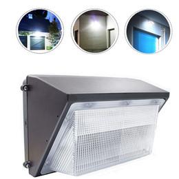 remplacer les ampoules Promotion Pack de mur LED lumière extérieure LED sécurité mur lumière LED lampe de jardin AC90-277V Super Bright White HPS ampoule aux halogénures métalliques remplacé DLC répertorié
