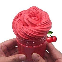 7 oz 200 ml Rojo Cereza O-REO Mantequilla Pastel de cumpleaños Caramelo Limo No pegajoso Lodo Limo Alivio del estrés Perfumado Masilla bricolaje Lodo para niñas desde fabricantes
