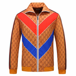 2019 giacche a caldo Fashion Jacket Nuovo Designer Brand Jacket Coat for Man Designer con Full Small Luxury G Spring Antumn Giacche Hot Top Abbigliamento Alta qualità giacche a caldo economici