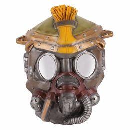 Partito di robot online-Apex Robot Pathfinder / Blood Hunt lattice maschera di Halloween Costume del gioco a tema Cosplay Mask Party i rifornimenti Prop