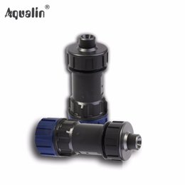 water flow controller Coupons - timer 2PCS 3 4 Garden Pressure Reducing Constant Flow Valve Used in Water Timer , Drip Irrigation ,Watering Kits #27129