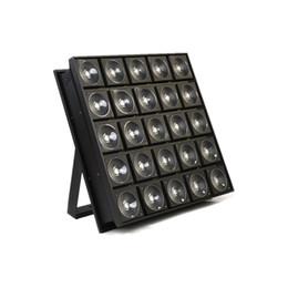 Conduttrice principale online-Pannello a matrice di LED 5x5 di alta qualità 25x30W RGB LED DMX Stage Blinder Light per stage club