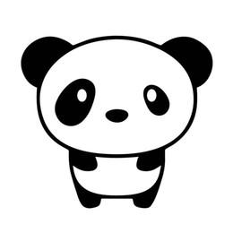 pequeno pacote bonito Desconto Bonito Pequeno Panda Vinyl Decal Adesivo Jdm Importar Mais Recente Mais Ilbaru Drift Embalagem Personalidade Acessórios