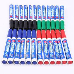 Placas de empacotamento on-line-10 PACK Fine Point Dry Erase Marcadores Canetas Perfeitas Para Escrever em Quadros Dry-Erase Boards Canetas de Escrita Lisa