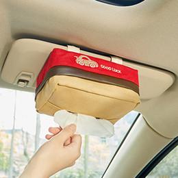 copertura in plastica a distanza Sconti Contenitore di immagazzinaggio del tessuto per auto Parasole per tetto sospeso Tetto apribile / Sedile / Copertura multifunzionale per tessuto creativo