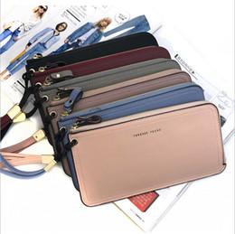 Молния короткий кошелек женский корейской версии ультратонкий мешок мобильного телефона многофункциональный большой емкости клатч повседневная сумка от