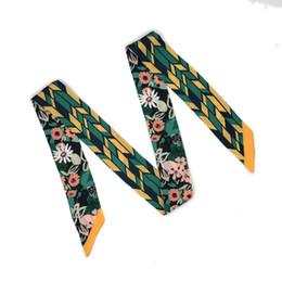 Canada ELENIANNIE 47 pouces mode féminine maigre cravate solide ceinture écharpe foulard cravate bande, foulard, cravate, écharpe de créateur, ceintures de concepteur Offre