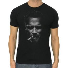2019 camisas livres do bodybuilding Arnold Schwarzenegger t-shirt dos homens novos charuto de Fitness musculação camisa S para 2XLFunny frete grátis Unisex Casual Tshirt top desconto camisas livres do bodybuilding