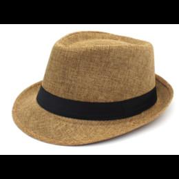 New Summer Beach Hat Straw Sun Hats for Men Women Jazz Cap Panama Caps Derby Bowler Z-6332
