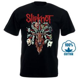Heavy metal t shirt nouveau en Ligne-Slipknot Nouvelle Vague De Heavy Metal Américain Nouveau T-shirt Top Pour Hommes