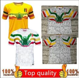 Camisetas de fútbol de equipo personalizado online-Camiseta de camiseta de fútbol de calidad 19 20 de la selección nacional de Mali personalizada SOUMAILA MAHAMANE MAMADOU SALAM19 20 camiseta de fútbol uniforme