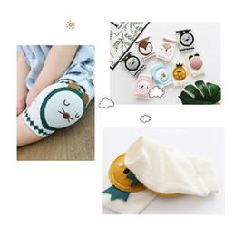 Ginocchio da bambino Ginocchio da bambino in maglia di cotone pettinato con ginocchiera traspirante a ginocchiera per neonati in estate 2019 da