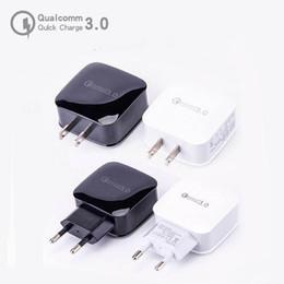 QC 3.0 Быстрое зарядное устройство 18 Вт 12 В 1.5A 9 В 1.8A Для США Штекер Адаптер для путешествий Сетевой адаптер Зарядное устройство для быстрой зарядки от