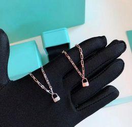 Fascino d'aragosta d'argento online-Designer TIF Key Jewelry Bracciale Bracciale in argento sterling 925 con diamante pieno 2 colori opzionali