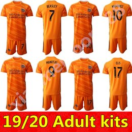 2020 tommy shirts 19 20 FC Dynamo Houston 8 Memo Rodriguez Jersey Set Soccer 22 Matias Vera 11 Tommy McNamara 23 Joe Willis Football Shirt Kit sconti tommy shirts