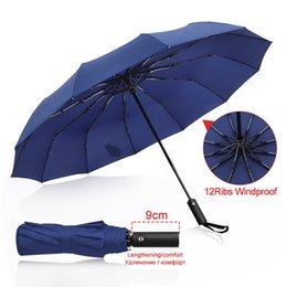 24k Rib Large Color Rainbow Umbrella Long Handle Straight Rain/&UV Protection Umbrella for Men Women Color : Rainbow, Size : Free Size