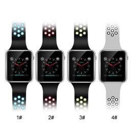 Telas lcd para telefones on-line-Smartwatch M3 Relógios Inteligentes Com 1.54 polegada Tela Sensível Ao Toque de LCD Para Android Assista Inteligente SIM Telefone Celular Inteligente Com Pacote de Varejo