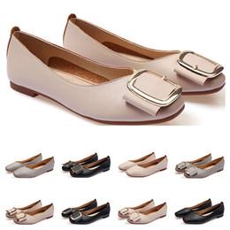 Le dimensioni delle scarpe delle donne delle ragazze online-Orologi da ballerina dimensioni lager 33-43 womens cuoio della ragazza nuda grigio Nuovo arrivel di nozze di lavoro nero Party Dress scarpe dieci