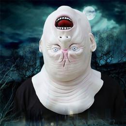 Argentina De Halloween para adultos Máscara Zombie Máscara de látex con sangre asustadiza diablo extranjero de la cara llena del partido del traje de Cosplay Prop DA Suministro