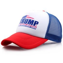 Donald Trump maglia Berretto da baseball per l'estate all'aperto Make America Grande ancora cappello da sole cappello repubblicano Mesh sport cap regalo AAA1895 da