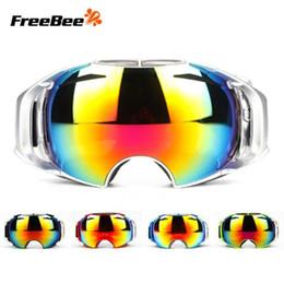 Альпинистские очки онлайн-Оптовая UV400 Airbrake двойной противотуманные лыжные очки защита глаз альпинизм зеркало УФ - защита лыжные очки hq700 epacket сообщение
