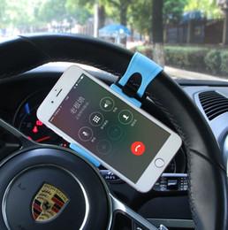 Araç Direksiyon Klip Dağı Tutucu iPhone X 8 7 6 6 s Samsung Xiaomi Huawei GPS nereden