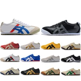 cycle shoes 44 Promo Codes - Wholesale New Onitsuka Tiger Running Shoes For Men Women Athletic Outdoor Boots Brand Sports Mens Trainers Sneakers Designer Shoe Size 36-44