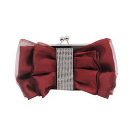 Canada Designer- 2019 nouveau borse da donna Mode Femmes Arc Fleur Sac À Bandoulière Mariée Demoiselle D'honneur Sac Soirée crossbody cheap bride bridesmaid flower bag Offre