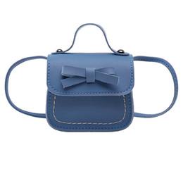 Kinder- & Babytaschen Mode Kinder Handtasche Bogen-knoten Prinzessin Schulter Umhängetasche Mädchen Brieftasche