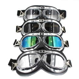 Deutschland Universal Silver Frame Brille Motorrad Brille Motocross Helm Brille Offroad Eyewear Outdoor Versorgung